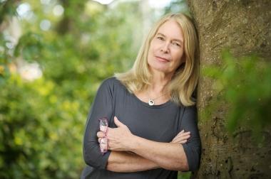 Writer Christine Breen at Old Ground Hotel, Ennis.