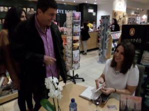 Louisa's Book Signing in Johannesburg