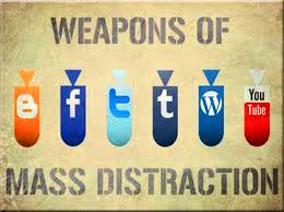Weapons distraction
