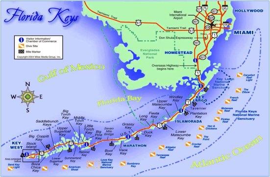 best-florida-keys-beaches-map