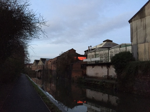 Black Country canal and factories
